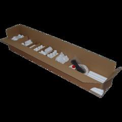 Installatiepakket A met 3 stofzuigcontacten