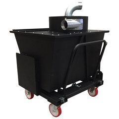 Mobiele en kiepbare voorafscheider 580 liter