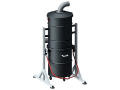 Voorafscheider met 100 liter opvangbak en filter 8m2