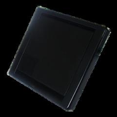 Stofzuigcontact Square zwart (mat)